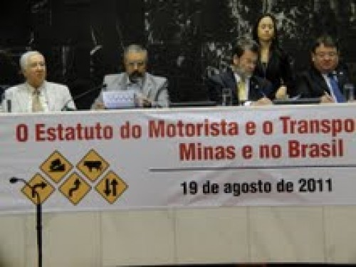 Debate do Estatuto do Motorista em BHVoltar